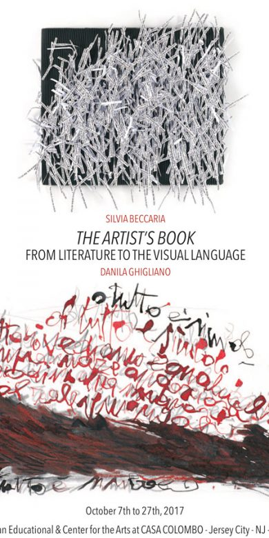 THE ARTIST S BOOK. FROM LITERATURE TO THE VISUAL LANGUAGE - 2017