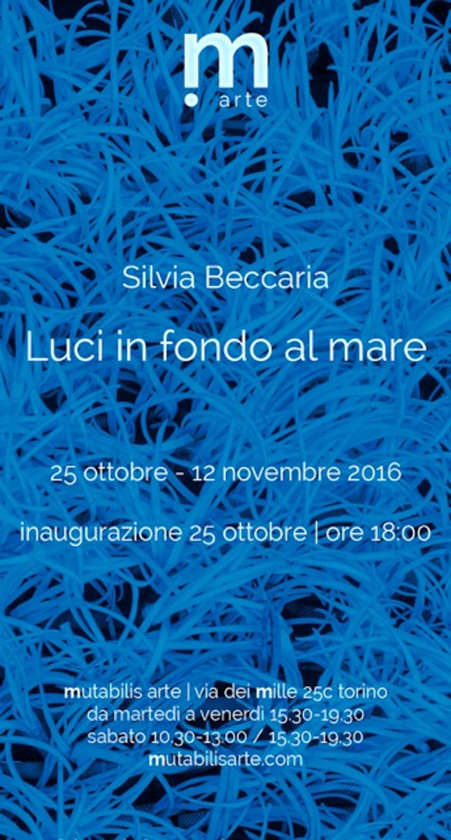 Silvia Beccaria - Luci in fondo al mare